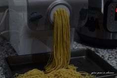 Chinese Egg Noodles in the Philips Pasta Maker #philipspastamaker #pasta #egg #noodles