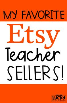 Teachers are SO crafty! Support Teacher Sellers and snag some fun goodies for yourself and your classroom!