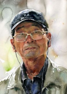 Misulbu, Watercolor portrait on ArtStack #misulbu #art