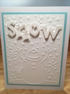 Embossed background Pop dotted Snow