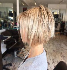 Short blonde hair ✂️ @krissafowles