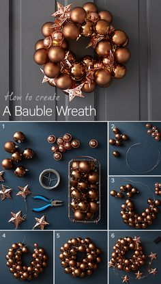 Want to create your own bauble wreath this Christmas? Our simple step-by-step guide explains how to make a beautiful bauble wreath to hang on your front door this Christmas. It will help give your home a stylish festive feel and create a warm welcome for your guests.