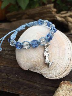gift for her Friendship Bracelet mermaid Slide Bracelet love mermaids Mermaid bracelet friendship gift Charm Bracelet dainty bracelet
