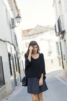 el blog de bárbara crespo. personal shopper madrid, fashion stylist & fashion blogger: TOTAL BLACK