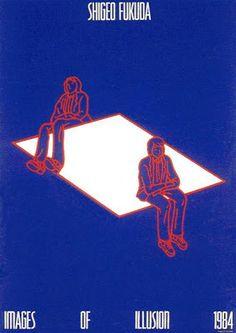 El espejo lúdico: Los carteles imposibles de Shigeo Fukuda