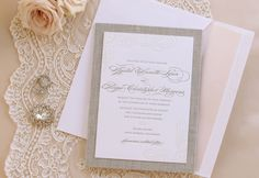 love the colors, texture and, script font. Love the elegance and timelessness