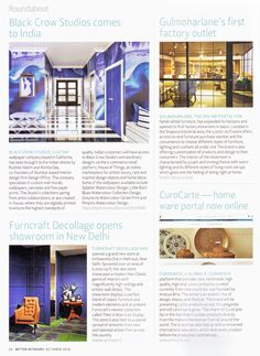 Our First Factory showroom is now open in Jaipur! Call us for an appointment. Thank you @betterinteriorsmagazine for the feature. :) #factory #showroom #nowopen #jaipur #magazinefeature #gulmoharlane