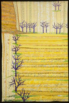 Straight Furrows by Linda Beach size: 56.5 x 38 inches