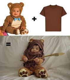 DIY Ewok Costume