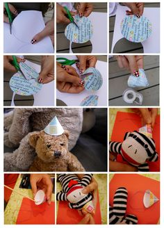 stuffed animals party hats free template for a birthday party for stuffed animals or teddy bear