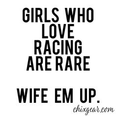 I love watching racing! I'm not wifed up LoL? Dirt Track Racing, Nascar Racing, Auto Racing, Racing Baby, Triumph Motorcycles, Motocross, Mopar, Race Quotes, Boy Quotes