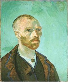 Vincent van Gogh Autorretrato (Dedicado a Paul Gauguin) Painting