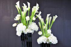 Marsano Berlin, white bouquets