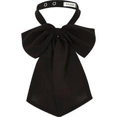 Nœud noir - Plastrons - Accessoires - femme