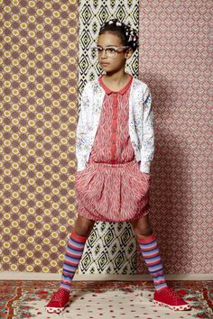 Beautiful print and pattern kids fashion story from Emma Tunbridge for summer 2013 - Smudgetikka Elmo, Tween Fashion, Girl Fashion, Kids Fashion Photography, Tween Girls, Kid Styles, Fashion Story, Kind Mode, Outfits For Teens