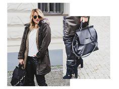 Jak nosit bundu ve městě? #skolastylu #inspirace #styling #jakseoblekat #jaknosit