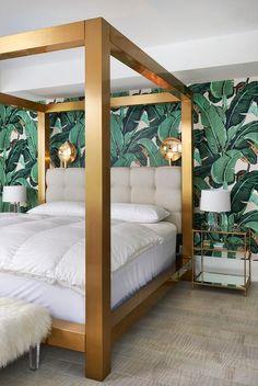 Moss Studio Luxe Canopy Bed