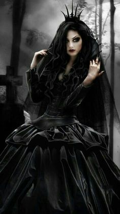 Wicked Black Widow Queen