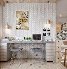 Blog Déco | MYDECOLAB: Spécial petits espaces - un studio de 40 m2 bien pensé