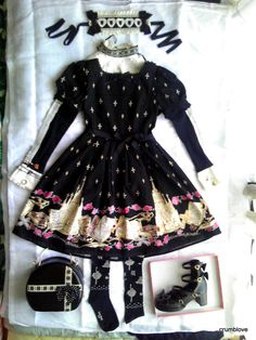 -Alice and the Pirates Aatp AnP St. Mephisto Catedral OP Nun Coord includes items these brands: Baby the Stars Shine Bright BtssB, Moi-meme-Moitie, Black Peace Now BPN, Jane Marple JM, Angelic Pretty AP, and Emily Temple Cute ETC. -アリスアンドザパイレーツ・ベイビーザスターズシャインブライト・モワメメモワティエ・ブラックピースナオ・ジェーンマープル・アンジェリックプリティ・エミリーテンプルキュート