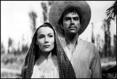 """From Movie """"Maria Candelaria"""" (Dolores del Río and Pedro Armendariz)"""