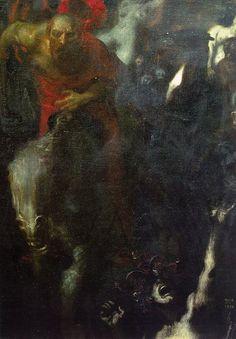 Franz von Stuck - The Wild Hunt (1899)