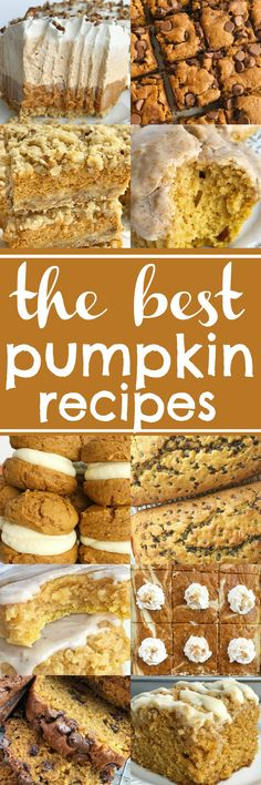 The Best Pumpkin Recipes | www.togetherasfamily.com #pumpkin #pumpkinspice #pumpkinrecipes