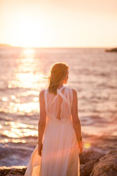 Bohemian Beach Bride On Sunny Croatian Shores
