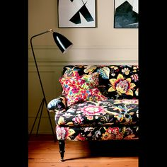 12 Fun Fabrics To Brighten Up A Boring Room via @MyDomaine