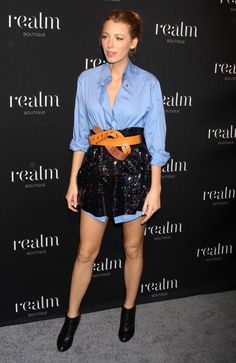 Elegantly ineffable excellence of Blake Lively .A la mode Hairstyles. Alexa Chung, Stretch Mark Treatment, Best Testosterone, Blake Lively Style, Hollywood Boulevard, Mini Vestidos, Sport Casual, Classic Beauty, Gossip Girl