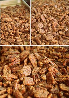 Candied Pecans Review: These were really easy to make. I added some vanilla extract to bump up the flavor. Would make great Christmas gifts in cute little jars.