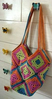 Crochet Inga's H�kelbeutel Bag, Crochet Inga's H�kelbeutel Bag |