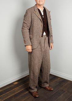 Tweed-Anzug - Design Uwe van Afferden