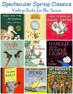 Books for every child's reading list this Spring!