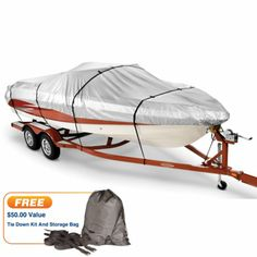 http://www.replacementtrailerparts.com/trailerprotectivecovers.php has some useful info on the different types of protective covers available for the various types of trailers and vehicles.