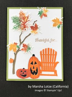 by Marsha Lotze, Stampin' Up!, Holiday One-for-One Swap