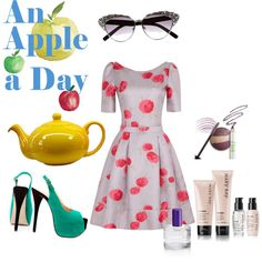 """""""An Apple a Day"""" by designsbyjessica on Polyvore http://www.marykay.com/lisabarber68 Call or text 386-303-2400"""