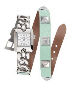 Mint Wrap Bracelet Watch