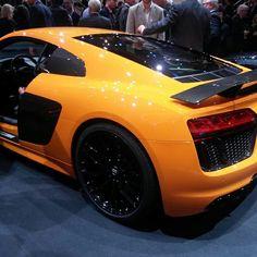 Audi R8 V10 Plus Geneva 2015
