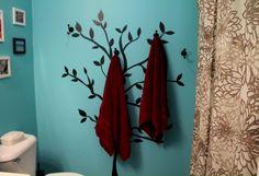 Bathroom Towel Tree