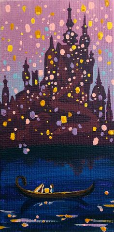 Custom 2x4 Disney Princess Canvas by SavannaRodriguez on Etsy