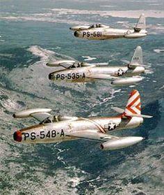 Korean War Aircraft. F-84