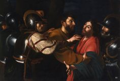 The Capture of Christ. Bartolomeo Manfredi. Italian 1582-1622