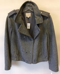 #Loft #NWT #Jacket   Size L   Retail $128   Our price $52! Call for more info (781)449-2500. #FreeShipping #ShopConsignment  #ClosetExchangeNeedham #ShopLocal #DesignerDeals #Resale #Luxury #Thrift #Fashionista