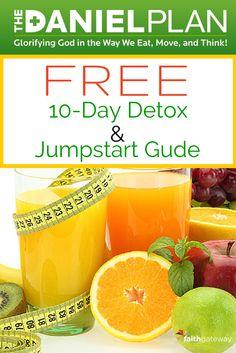 Free Guide | Daniel Fast