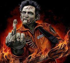 The MAN! Johnny Cash himself! #SRH #WERUNTHEUNDERGROUND