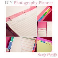 DIY Photography Planner by Ready Freddie Studios  Free Client Workflow Template  Download Now!