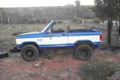 Ford Bronco II Full Chop top & 6 point Roll Cage