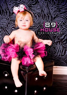 Hot Pink & Black Tutu