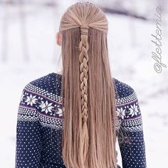 """winter feels ❄️ four strands round braid "" Photo taken by @braidsforgirls on Instagram, pinned via the InstaPin iOS App! http://www.instapinapp.com (11/03/2015)"